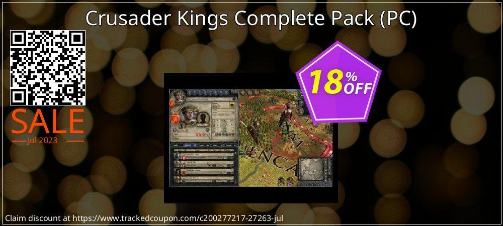 Get 10% OFF Crusader Kings Complete Pack (PC) offering sales