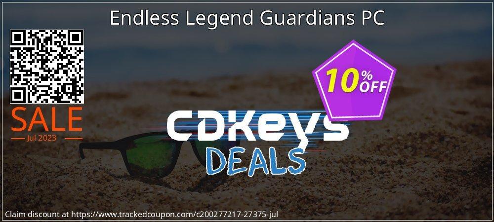 Get 10% OFF Endless Legend Guardians PC promo