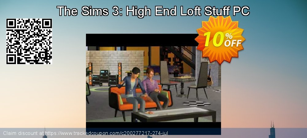 The Sims 3: High End Loft Stuff PC coupon on Tattoo Day deals