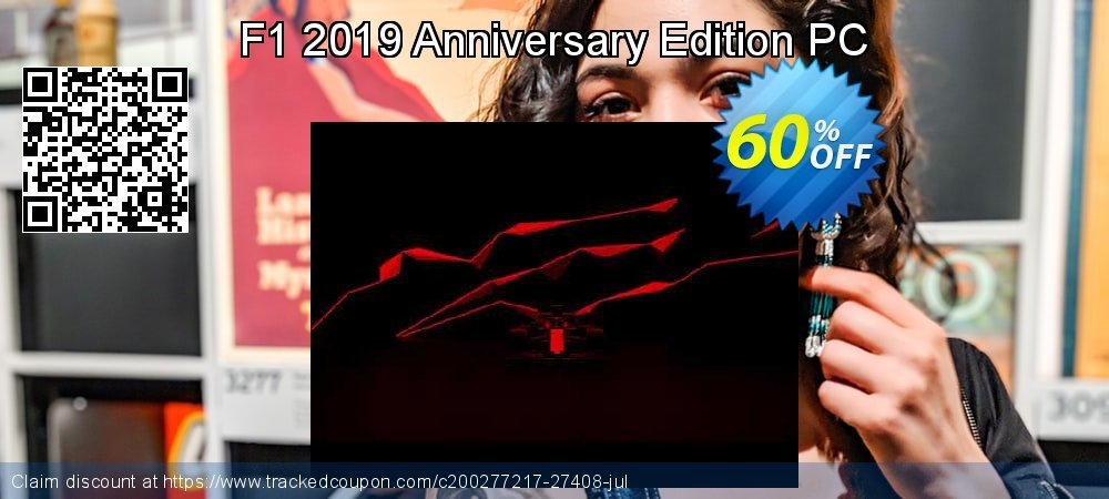 F1 2019 Anniversary Edition PC coupon on Read Across America Day offering sales