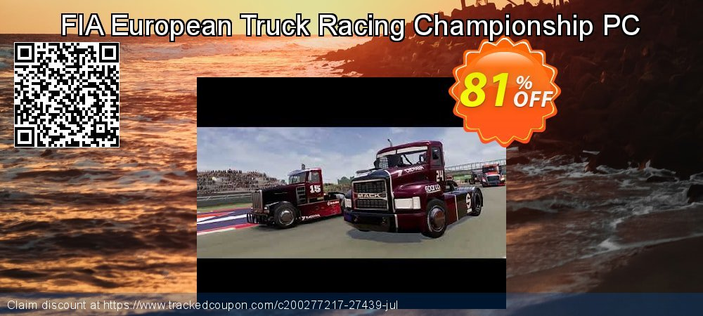 FIA European Truck Racing Championship PC coupon on Lunar New Year discounts