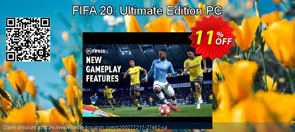 FIFA 20: Ultimate Edition PC coupon on Happy New Year discount