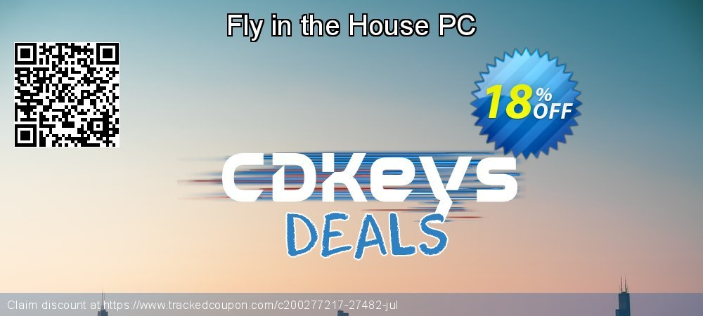 Fly in the House PC coupon on World Bicycle Day deals