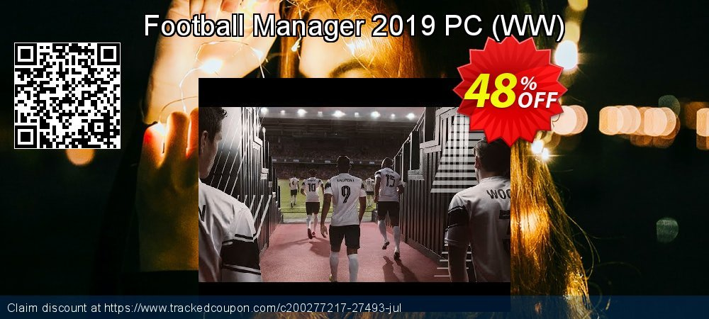 Football Manager 2019 PC - WW  coupon on Natl. Doctors' Day sales