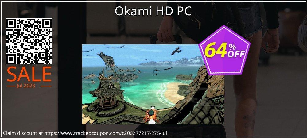 Okami HD PC coupon on Emoji Day offer
