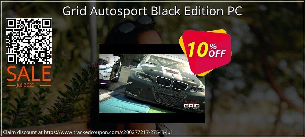 Get 10% OFF Grid Autosport Black Edition PC offering sales