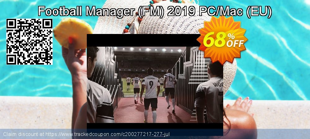 Football Manager - FM 2019 PC/Mac - EU  coupon on Summer offering discount