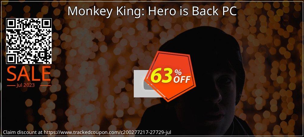 Get 88% OFF Monkey King: Hero is Back PC deals