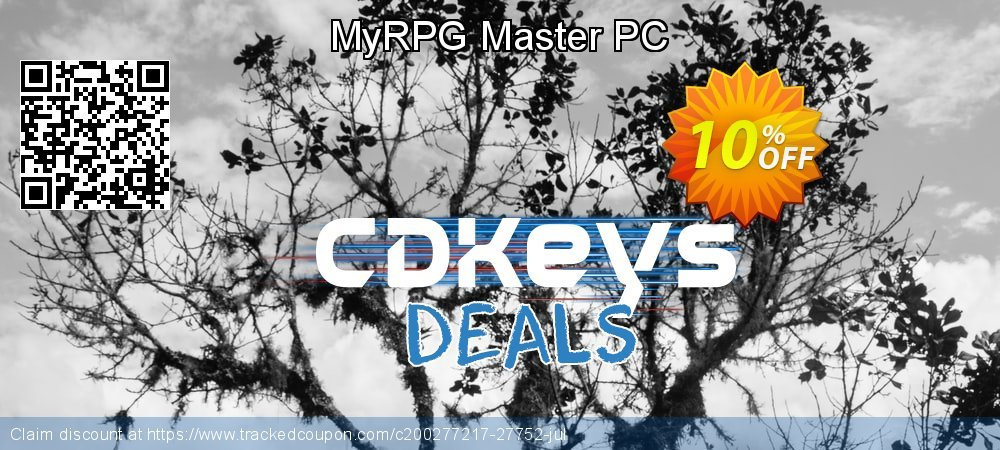 Get 10% OFF MyRPG Master PC offering deals