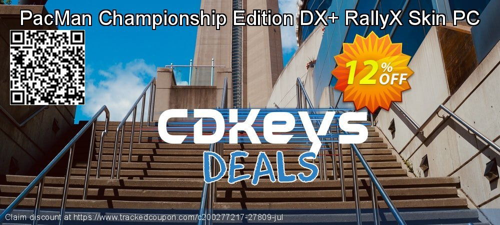 Get 10% OFF PacMan Championship Edition DX+ RallyX Skin PC offering sales