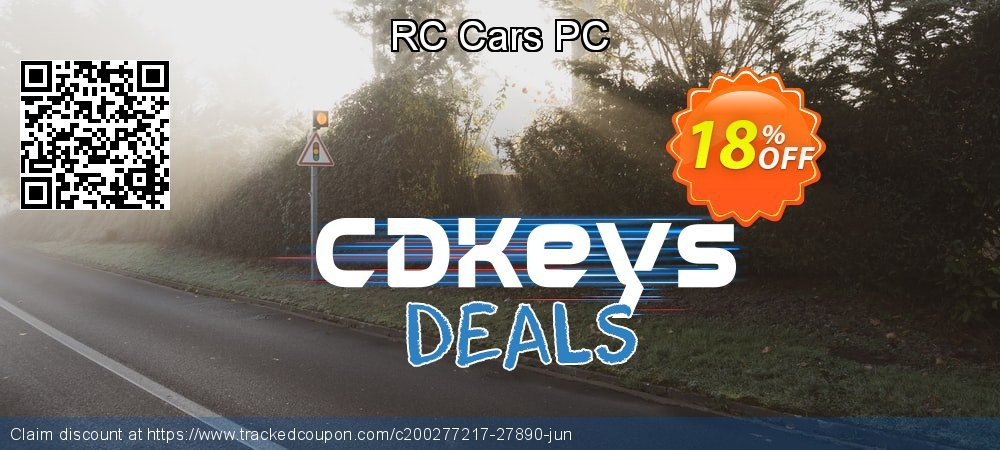 RC Cars PC coupon on Hug Holiday offering discount