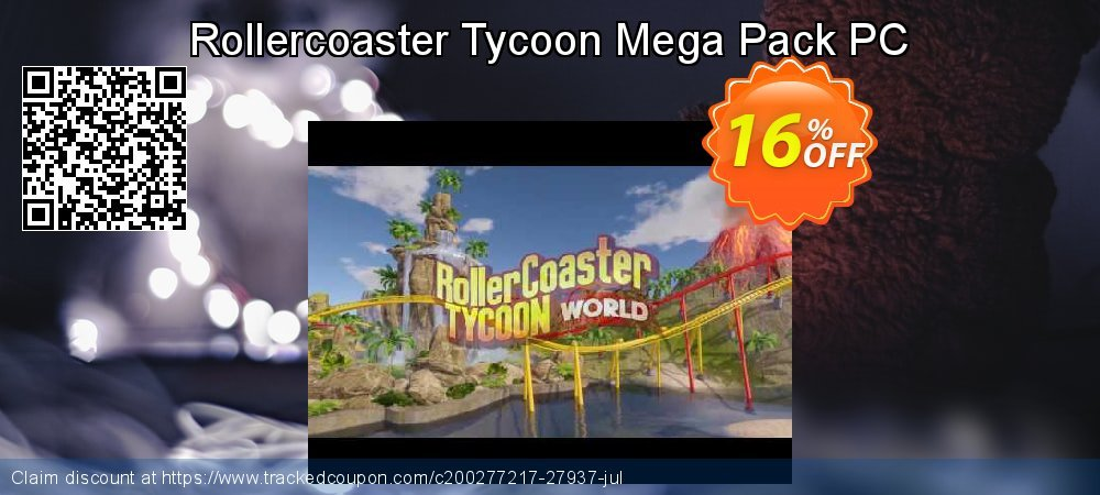 Get 10% OFF Rollercoaster Tycoon Mega Pack PC offer