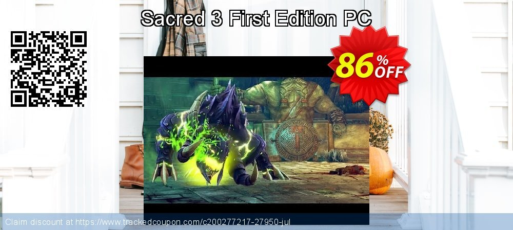 Get 86% OFF Sacred 3 First Edition PC offering sales