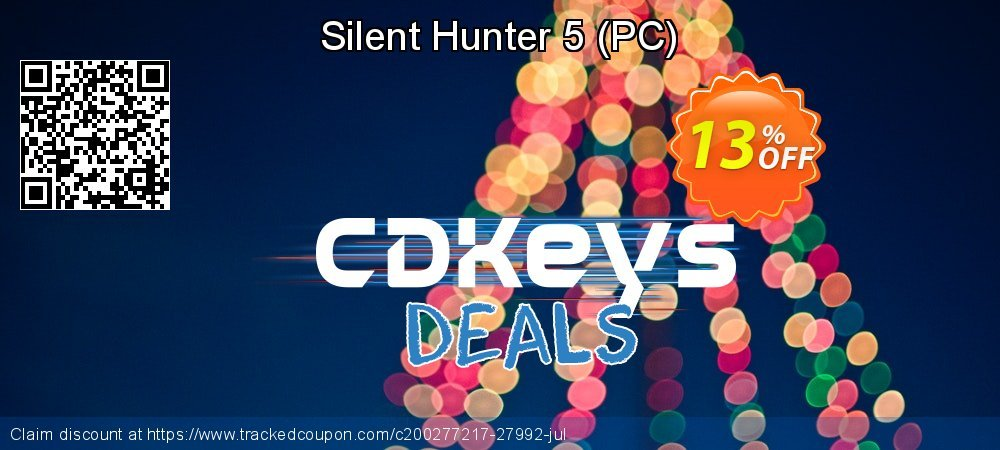 Silent Hunter 5 - PC  coupon on National Kissing Day discounts