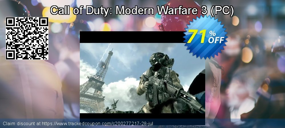 Call of Duty: Modern Warfare 3 - PC  coupon on Mom Day offering sales
