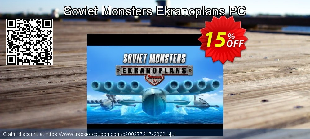 Get 10% OFF Soviet Monsters Ekranoplans PC offering sales
