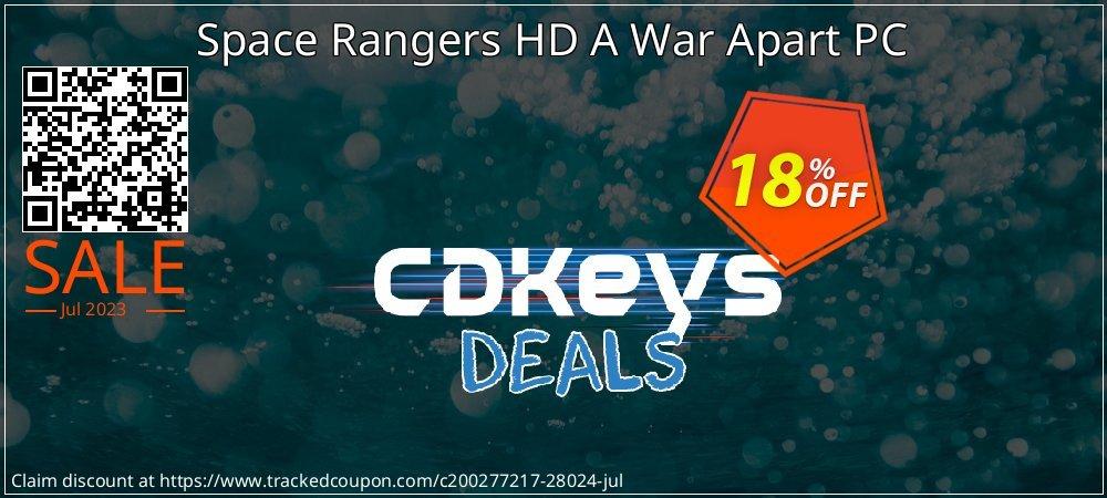 Get 10% OFF Space Rangers HD A War Apart PC discounts