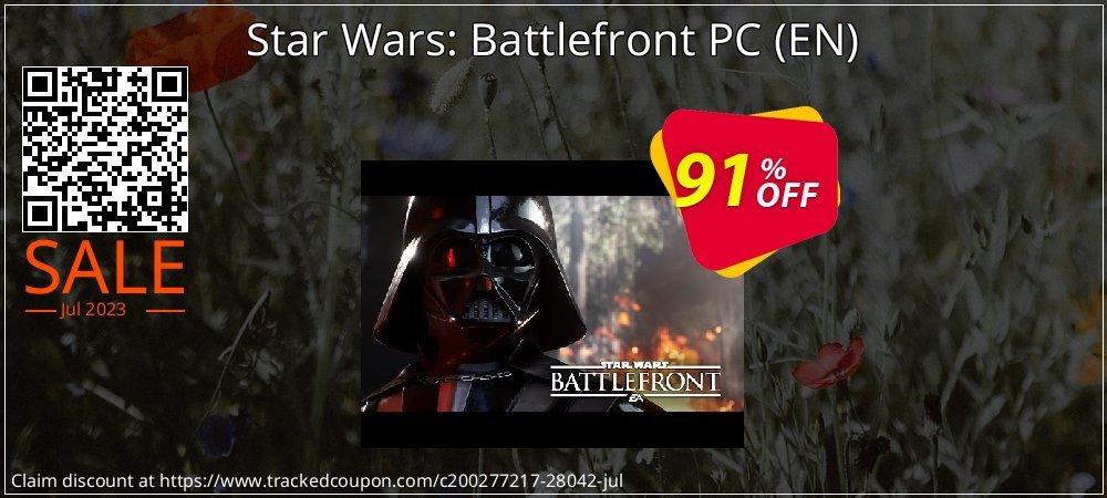 Get 91% OFF Star Wars: Battlefront PC (EN) offering sales