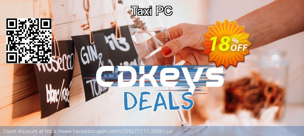 Taxi PC coupon on World Milk Day discounts