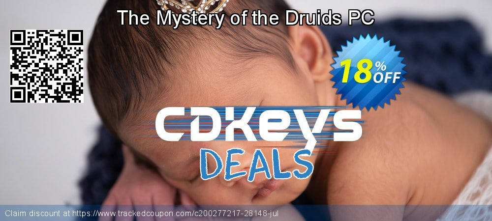 Get 10% OFF The Mystery of the Druids PC offering sales