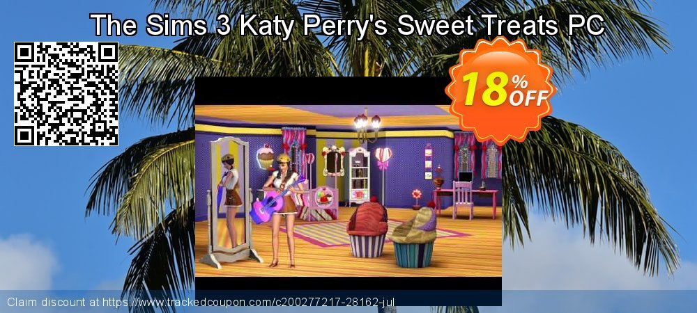 Get 10% OFF The Sims 3 Katy Perry's Sweet Treats PC offering sales
