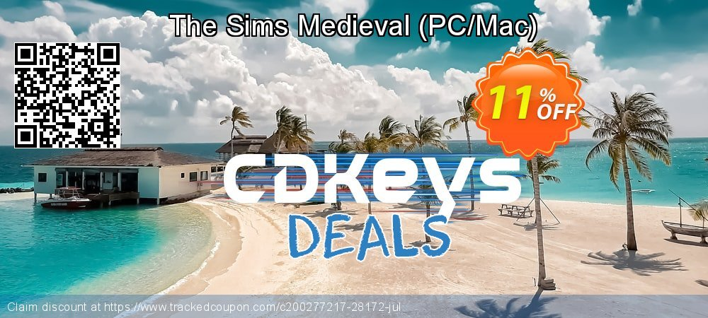 The Sims Medieval - PC/Mac  coupon on Social Media Day discounts