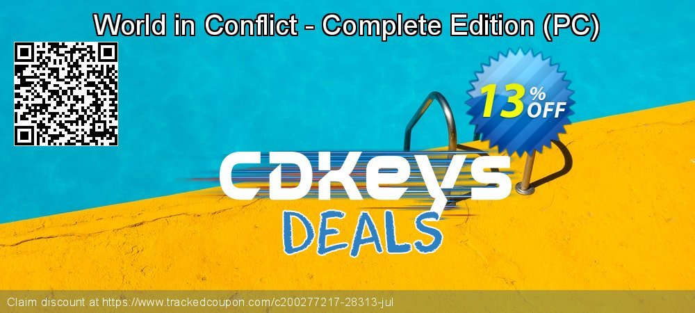 Get 10% OFF World in Conflict - Complete Edition (PC) offering sales