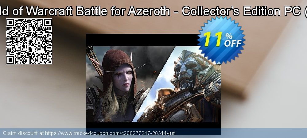 World of Warcraft Battle for Azeroth - Collector's Edition PC - EU  coupon on Read Across America Day offer