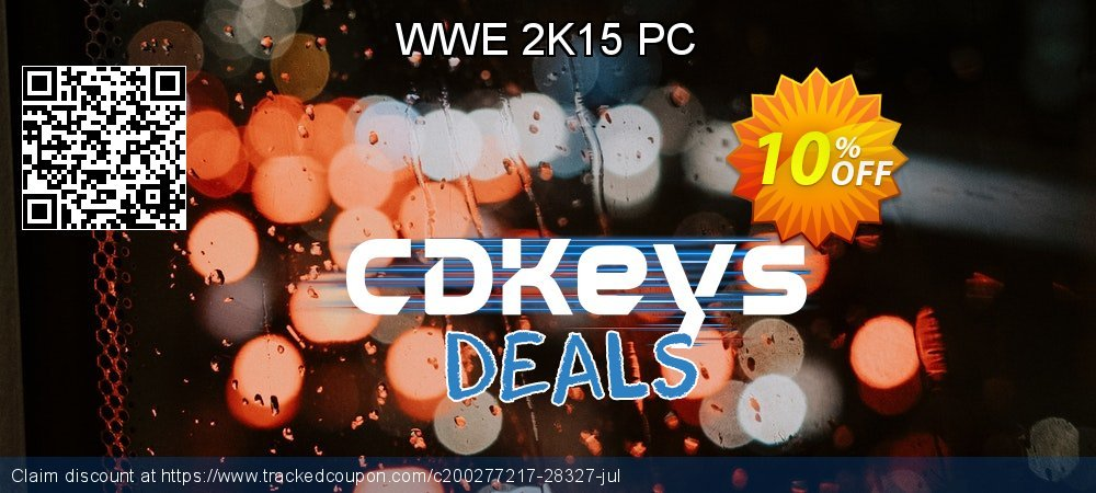 WWE 2K15 PC coupon on Back to School coupons discount