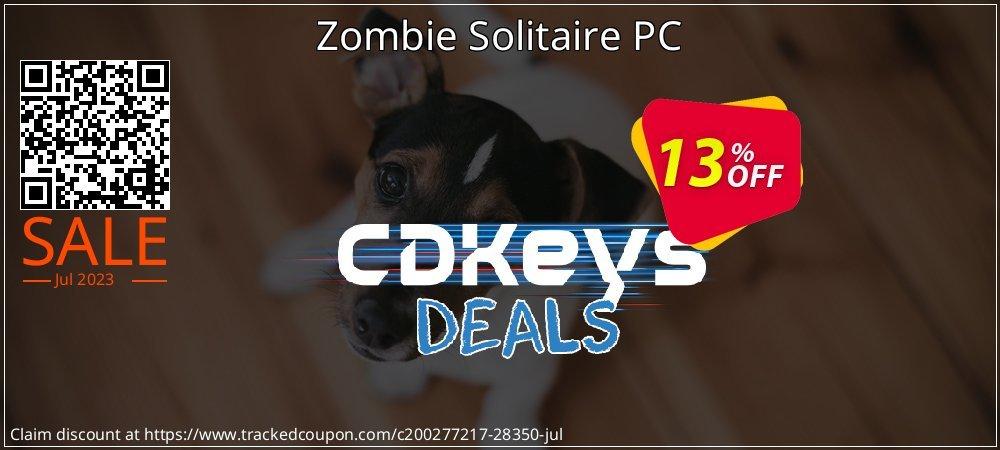 Get 10% OFF Zombie Solitaire PC discounts
