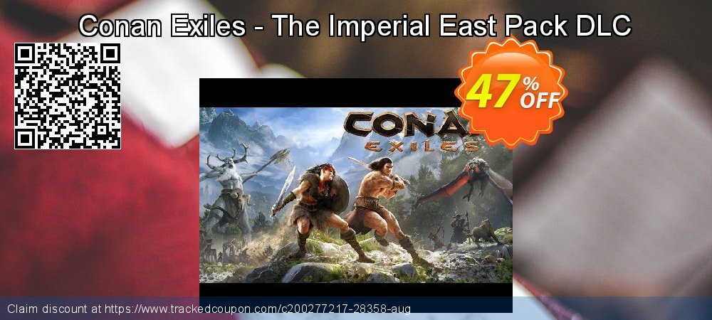 Conan Exiles - The Imperial East Pack DLC coupon on Parents' Day offering sales