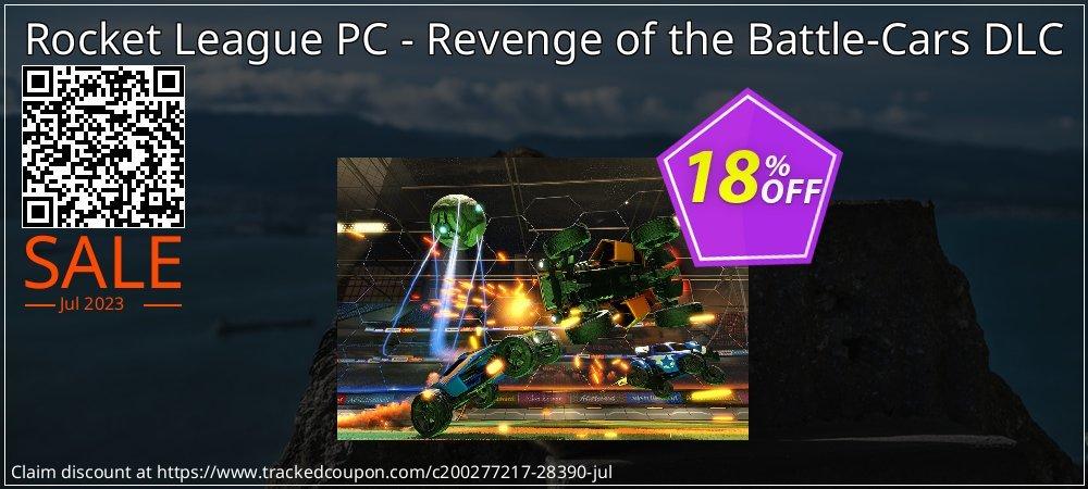 Get 10% OFF Rocket League PC - Revenge of the Battle-Cars DLC sales
