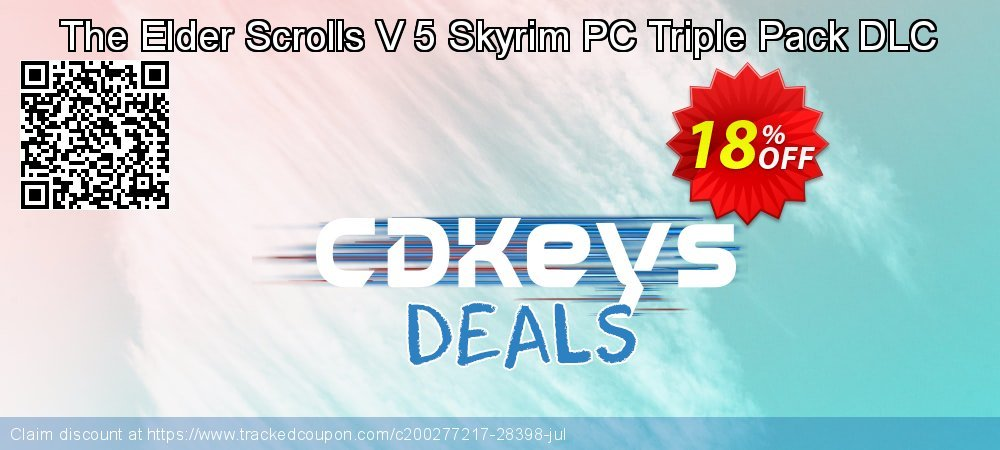 The Elder Scrolls V 5 Skyrim PC Triple Pack DLC coupon on Camera Day promotions