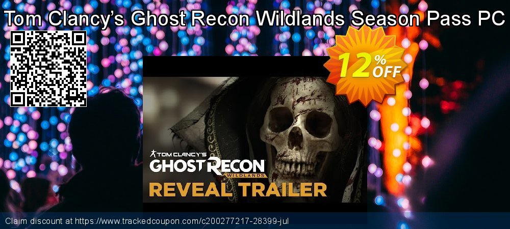 Tom Clancy's Ghost Recon Wildlands Season Pass PC coupon on US Independence Day deals