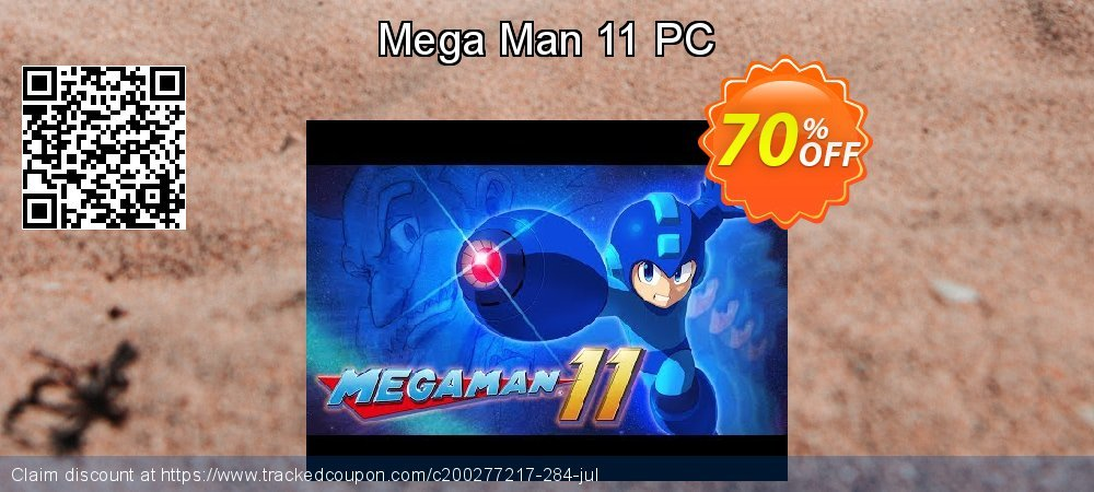 Mega Man 11 PC coupon on Video Game Day offer