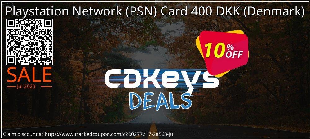 Playstation Network - PSN Card 400 DKK - Denmark  coupon on World Oceans Day offer