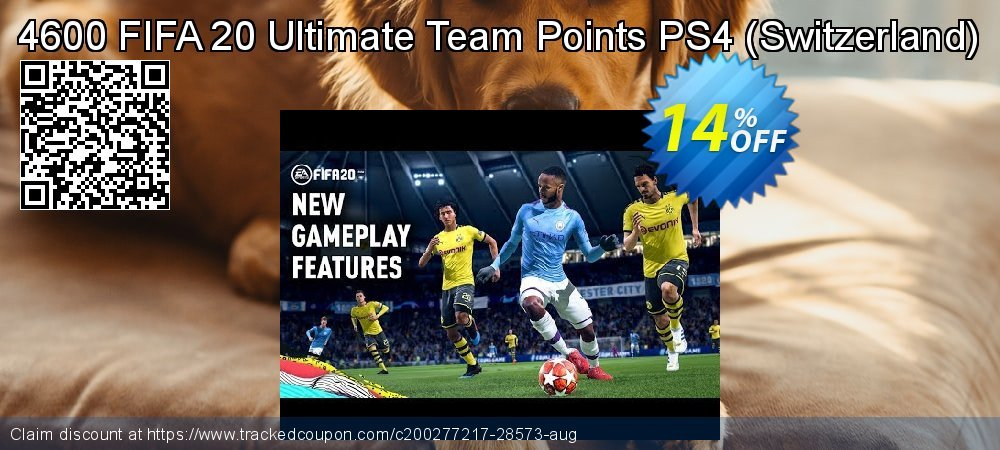 4600 FIFA 20 Ultimate Team Points PS4 - Switzerland  coupon on Halloween discounts