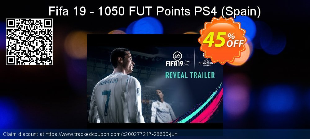 Get 44% OFF Fifa 19 - 1050 FUT Points PS4 (Spain) offer