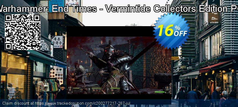 Get 10% OFF Warhammer: End Times - Vermintide Collectors Edition PC offering deals