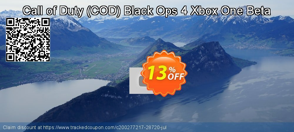Get 97% OFF Call of Duty (COD) Black Ops 4 Xbox One Beta offering discount