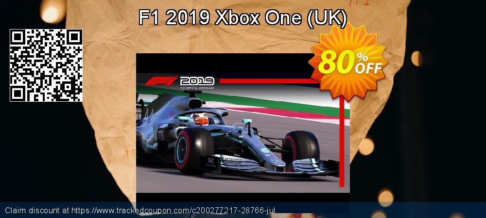 F1 2019 Xbox One - UK  coupon on  Lover's Day discount