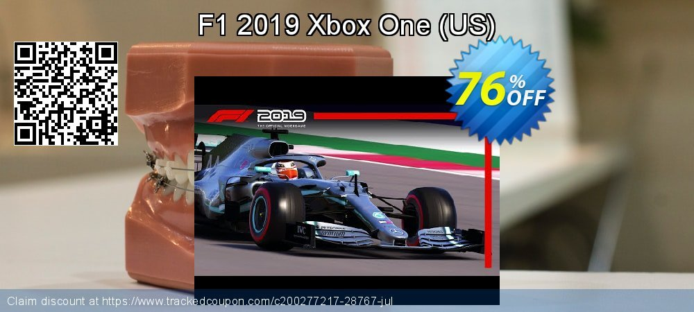 F1 2019 Xbox One - US  coupon on Super bowl offering discount