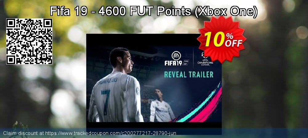 Get 10% OFF Fifa 19 - 4600 FUT Points (Xbox One) discounts