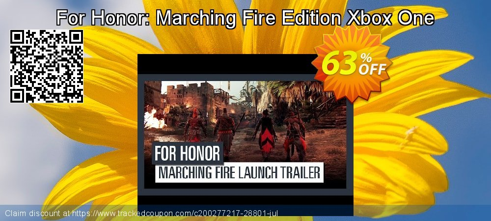 For Honor: Marching Fire Edition Xbox One coupon on Camera Day super sale