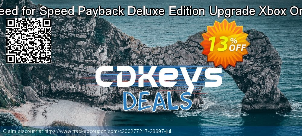 Get 10% OFF Need for Speed Payback Deluxe Edition Upgrade Xbox One offering sales