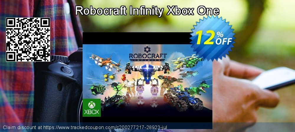 Robocraft Infinity Xbox One coupon on US Independence Day discount