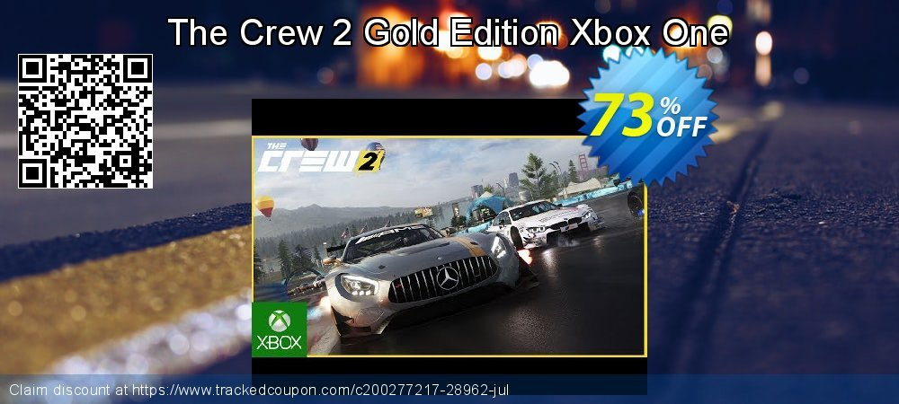 The Crew 2 Gold Edition Xbox One coupon on World Milk Day offering sales