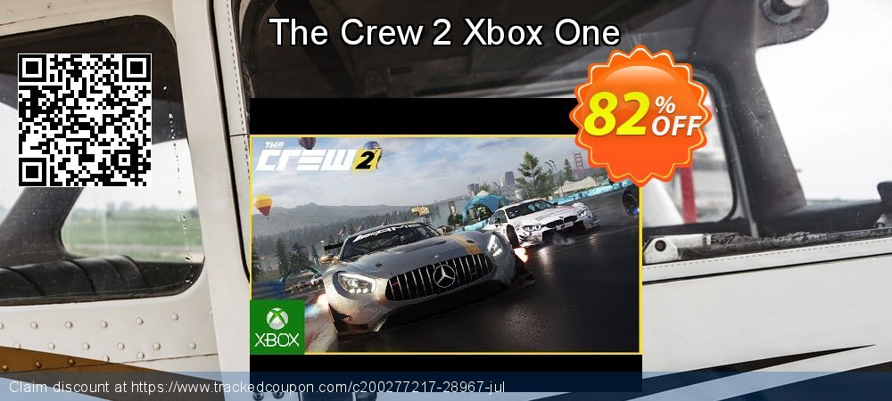 The Crew 2 Xbox One coupon on National Kissing Day deals