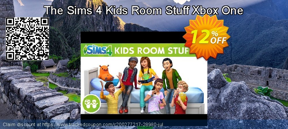 Get 10% OFF The Sims 4 Kids Room Stuff Xbox One offer