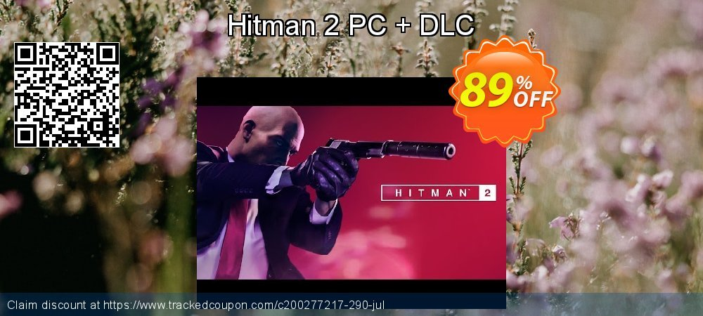 Hitman 2 PC + DLC coupon on Summer promotions